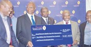 E750 000 FOR SWAZITELECOM CHARITY CUP CHAMP
